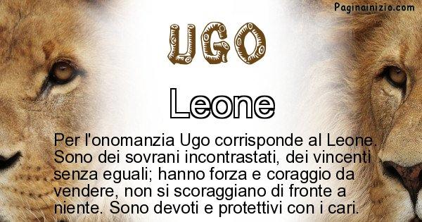 Ugo - Animale associato al nome Ugo