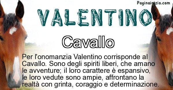 Valentino - Animale associato al nome Valentino