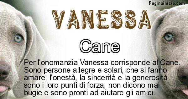 Vanessa - Animale associato al nome Vanessa