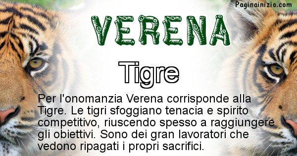 Verena - Animale associato al nome Verena
