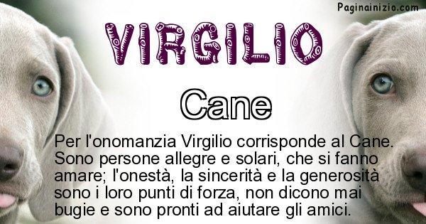 Virgilio - Animale associato al nome Virgilio