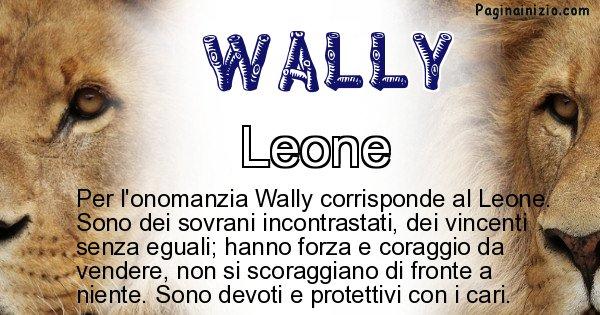 Wally - Animale associato al nome Wally