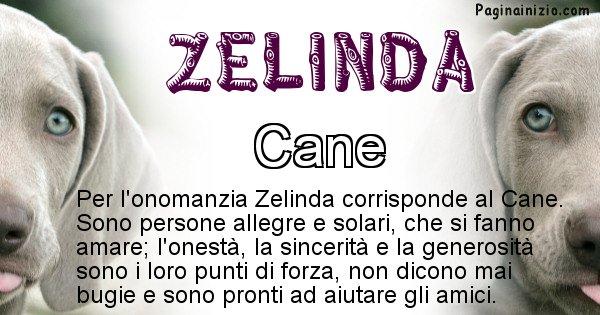 Zelinda - Animale associato al nome Zelinda