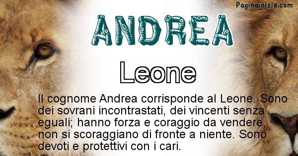 Andrea - Scopri l'animale affine al cognome Andrea
