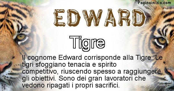 Edward - Scopri l'animale affine al cognome Edward
