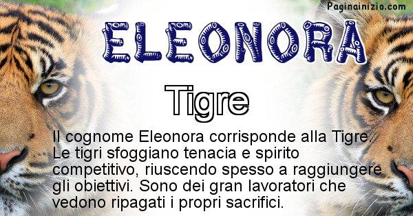 Eleonora - Scopri l'animale affine al cognome Eleonora
