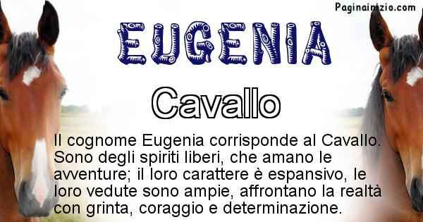 Eugenia - Scopri l'animale affine al cognome Eugenia