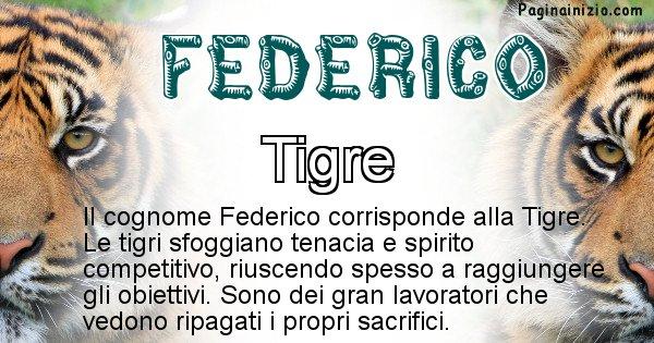 Federico - Scopri l'animale affine al cognome Federico