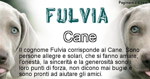 Fulvia - Scopri l'animale affine al cognome Fulvia