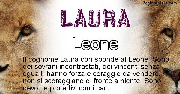 Laura - Scopri l'animale affine al cognome Laura