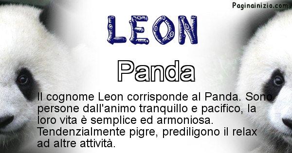 Leon - Scopri l'animale affine al cognome Leon