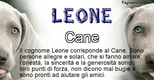 Leone - Scopri l'animale affine al cognome Leone