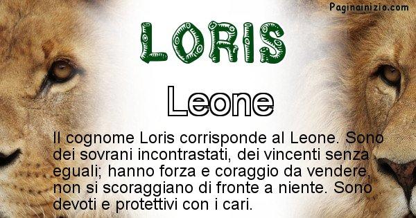 Loris - Scopri l'animale affine al cognome Loris