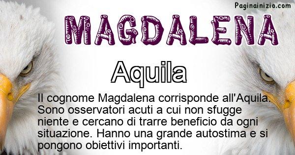 Magdalena - Scopri l'animale affine al cognome Magdalena