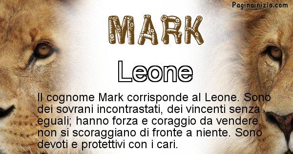 Mark - Scopri l'animale affine al cognome Mark