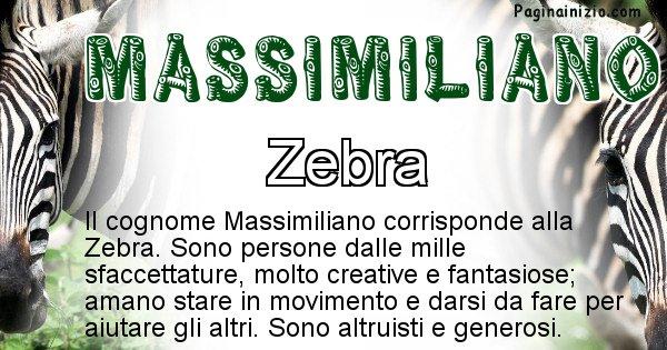Massimiliano - Scopri l'animale affine al cognome Massimiliano
