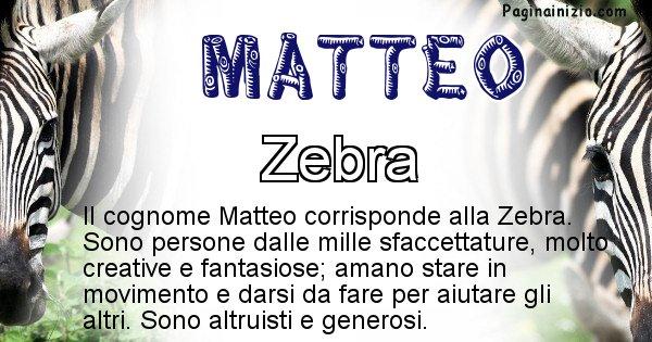 Matteo - Scopri l'animale affine al cognome Matteo