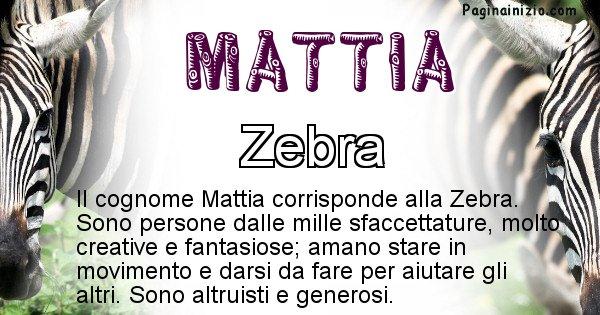 Mattia - Scopri l'animale affine al cognome Mattia