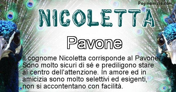 Nicoletta - Scopri l'animale affine al cognome Nicoletta