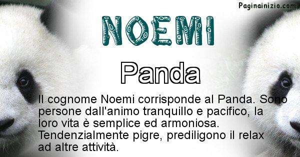 Noemi - Scopri l'animale affine al cognome Noemi