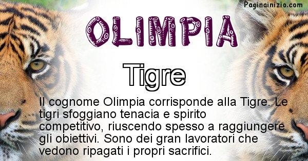 Olimpia - Scopri l'animale affine al cognome Olimpia