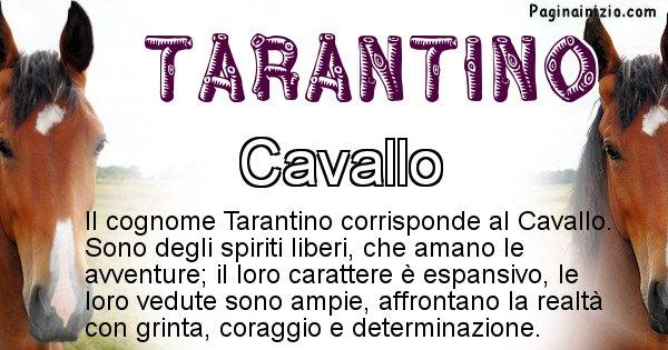 Tarantino - Scopri l'animale affine al cognome Tarantino