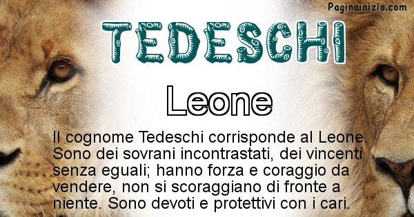 Tedeschi - Scopri l'animale affine al cognome Tedeschi