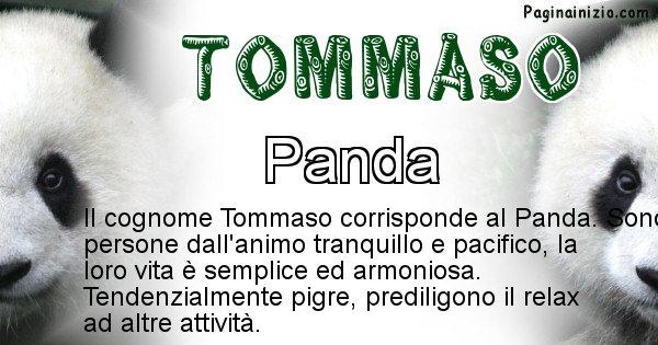 Tommaso - Scopri l'animale affine al cognome Tommaso