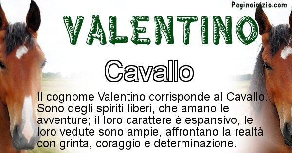 Valentino - Scopri l'animale affine al cognome Valentino