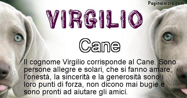 Virgilio - Scopri l'animale affine al cognome Virgilio