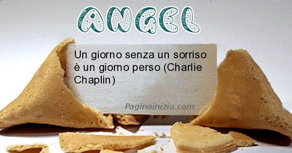Angel - Biscotto della fortuna per Angel