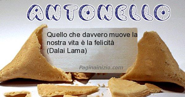 Antonello - Biscotto della fortuna per Antonello
