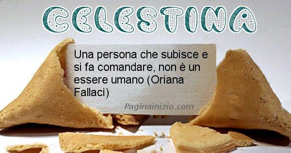 Celestina - Biscotto della fortuna per Celestina