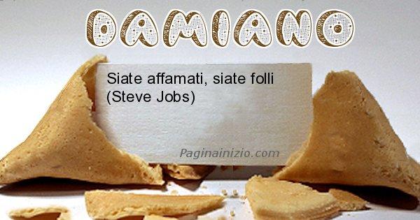 Damiano - Biscotto della fortuna per Damiano