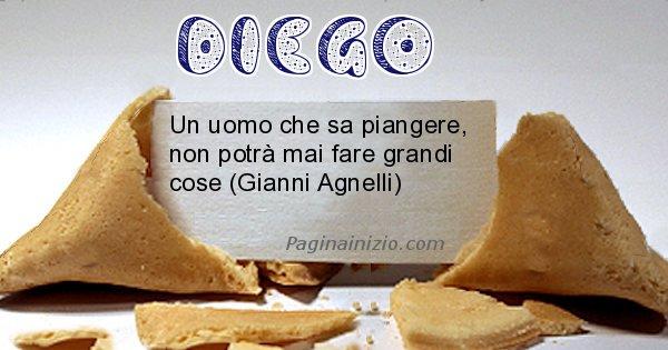 Diego - Biscotto della fortuna per Diego