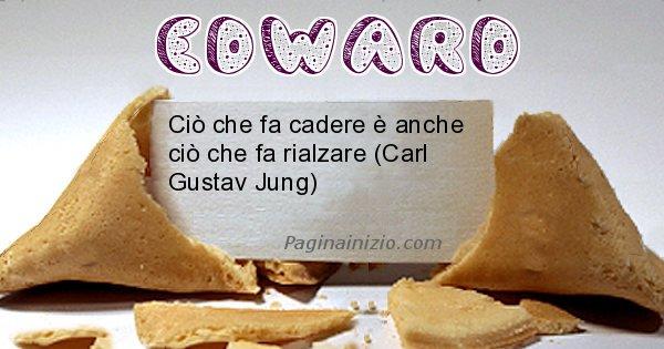 Edward - Biscotto della fortuna per Edward