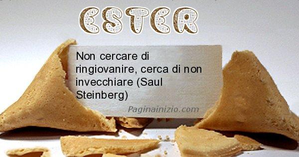 Ester - Biscotto della fortuna per Ester