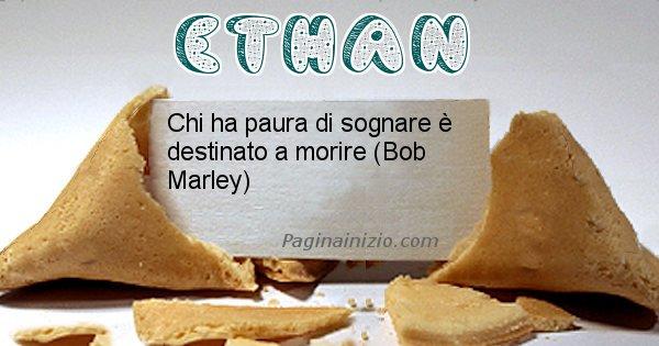 Ethan - Biscotto della fortuna per Ethan