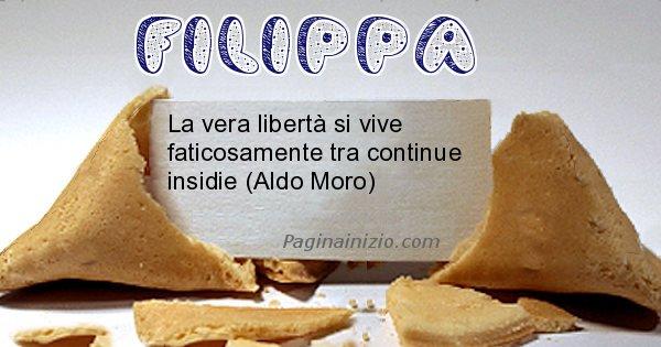 Filippa - Biscotto della fortuna per Filippa
