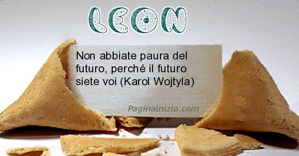Leon - Biscotto della fortuna per Leon