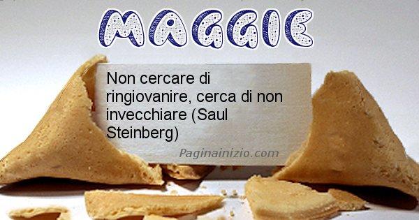 Maggie - Biscotto della fortuna per Maggie