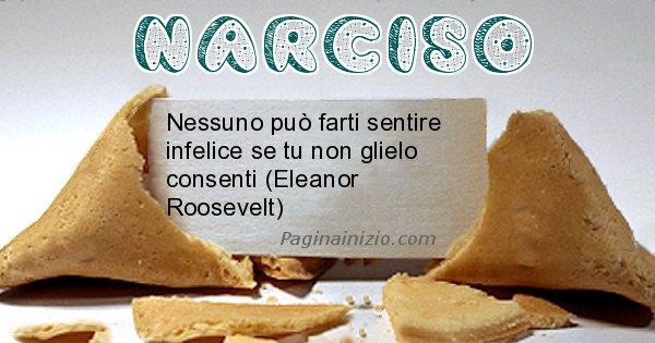 Narciso - Biscotto della fortuna per Narciso