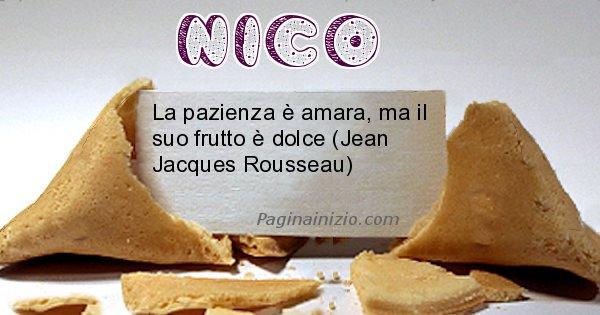 Nico - Biscotto della fortuna per Nico