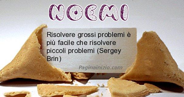 Noemi - Biscotto della fortuna per Noemi