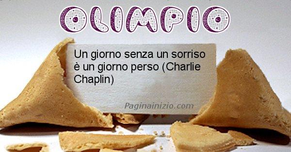 Olimpio - Biscotto della fortuna per Olimpio