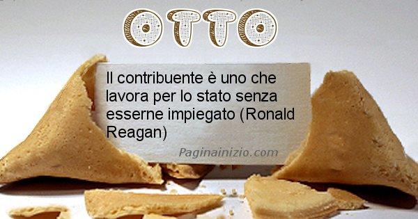 Otto - Biscotto della fortuna per Otto