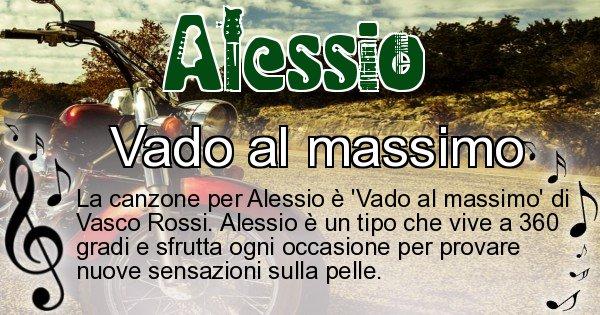 Alessio - Canzone ideale per Alessio