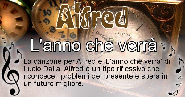 Alfred - Canzone ideale per Alfred