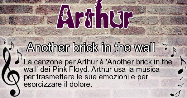 Arthur - Canzone ideale per Arthur