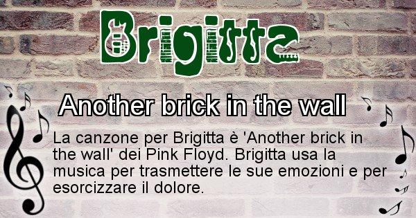 Brigitta - Canzone ideale per Brigitta